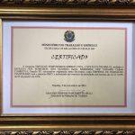Nós temos o certificado de Serviços Temporários